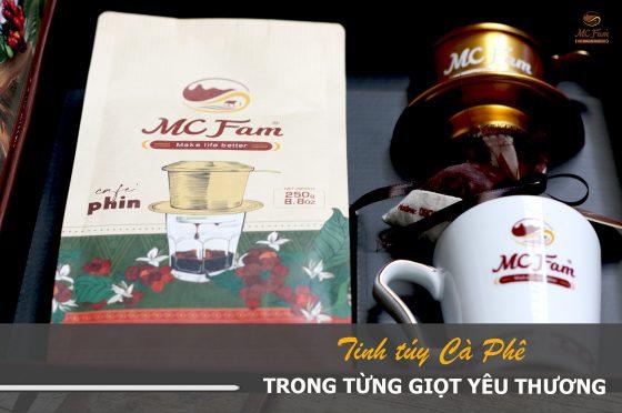Tinh túy cà phê Việt trong từng giọt yêu thương
